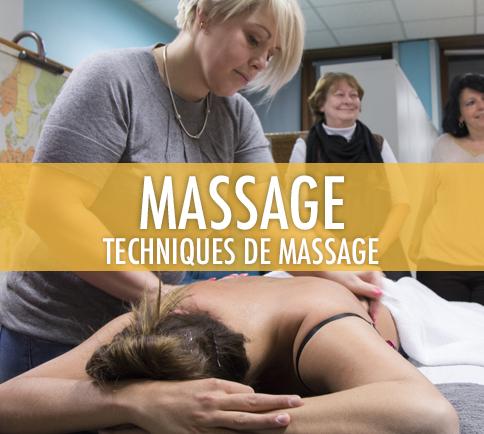 Massage: Techniques de massage