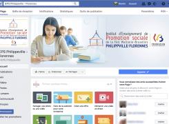 L'IEPS Philippeville sur Facebook