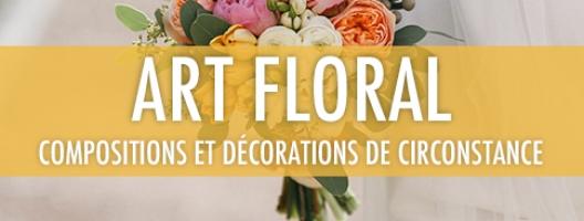 Art floral: compositions et décorations de circonstance