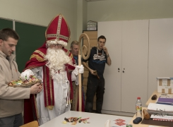 Visite de Saint-Nicolas en photo…