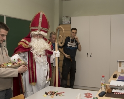 Visite de Saint-Nicolas en photo…
