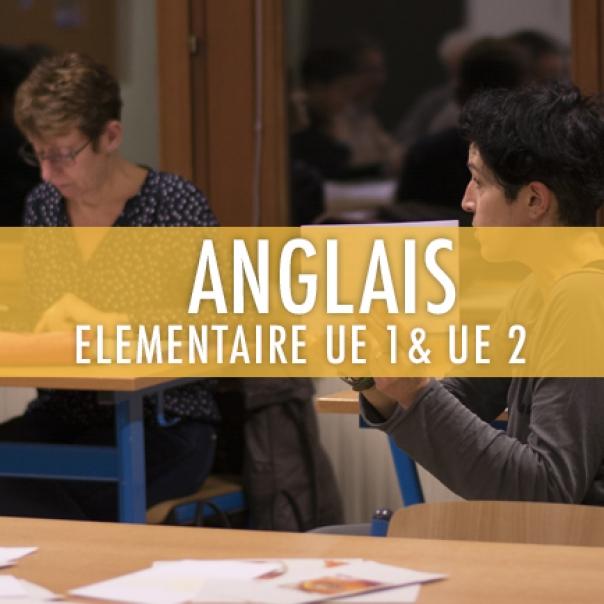 Anglais : Elémentaire UE 1 & 2