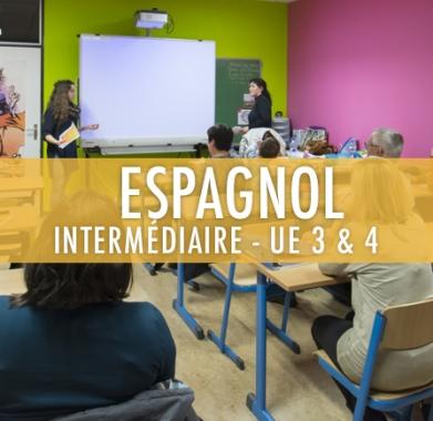 Espagnol : Intermédiaire UE 3 et 4