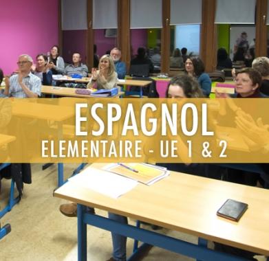 Espagnol : Elémentaire UE 1 et 2