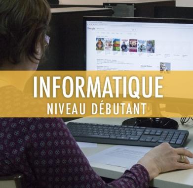 Informatique: niveau débutant