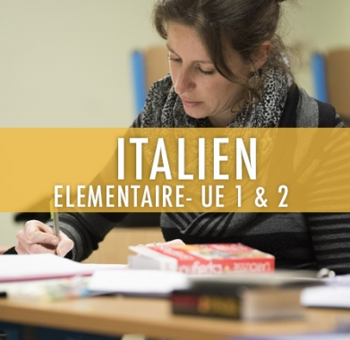 Italien : Elémentaire UE 1 & 2