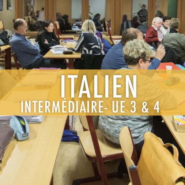 Italien : Elémentaire UE 3 & 4