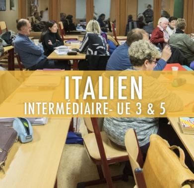 Italien : Elémentaire UE 3 & 5