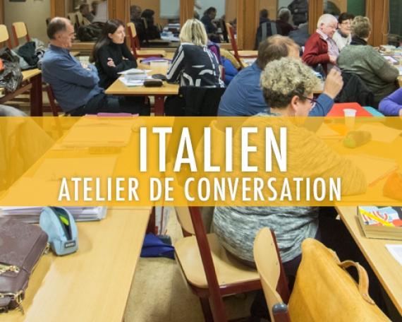 Italien : atelier de conversation