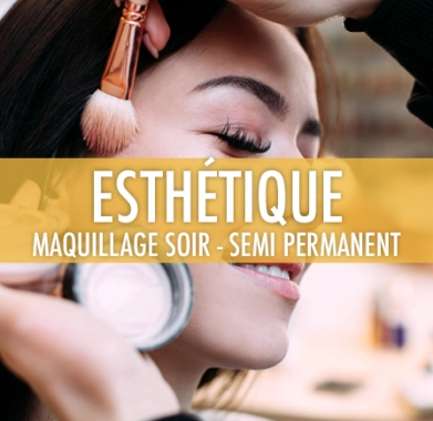 Maquillage soir et semi permanent