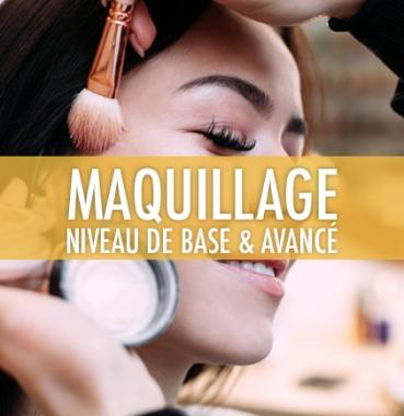 Maquillage: Niveau de base
