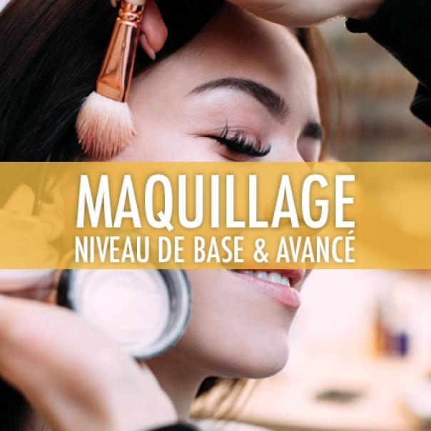 Maquillage: Niveau de base & avancé