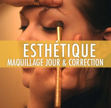 Maquillage de jour et maquillage  de correction