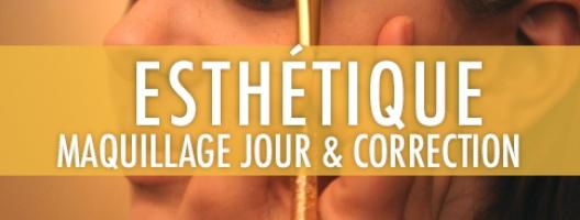 Maquillage de jour et maquillage  de correction