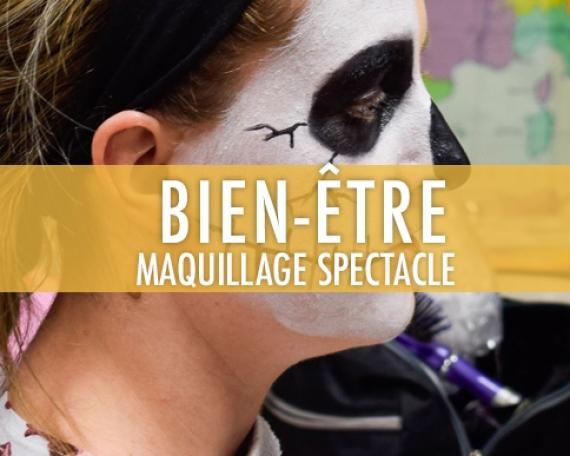 Maquillage orienté vers les métiers du spectacle
