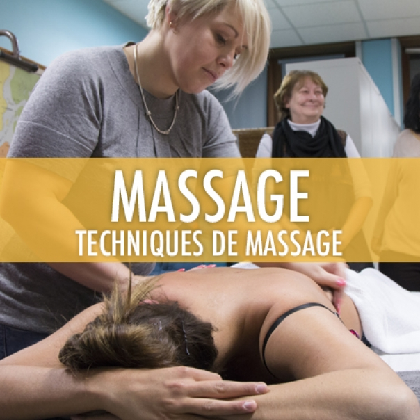 Massage: Techniques de massage