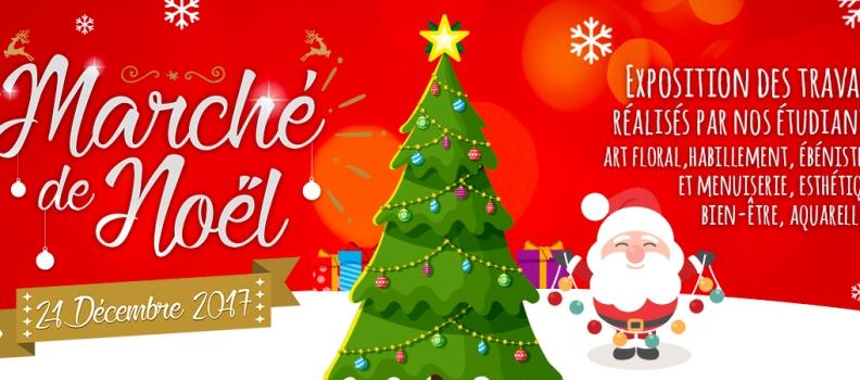 Marché de Noël le 21 décembre