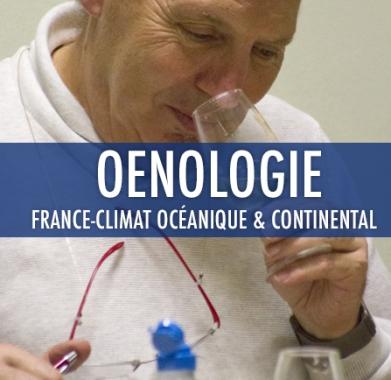 oenologie 2: France – Climat Océanique et continental 2