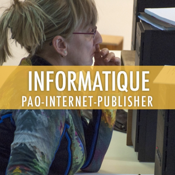 Informatique: PAO – Internet – Publisher