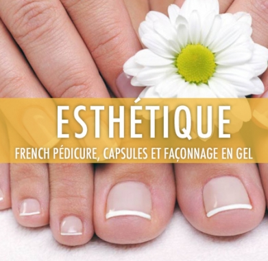 FRENCH PEDICURE ET FACONNAGE EN GEL