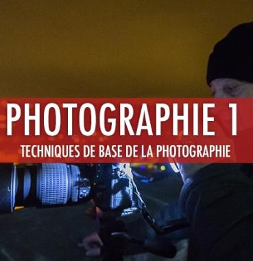 Photographie 1: techniques de base