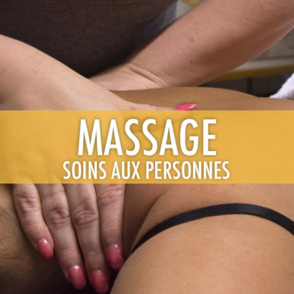 Soins aux personnes: techniques de massage