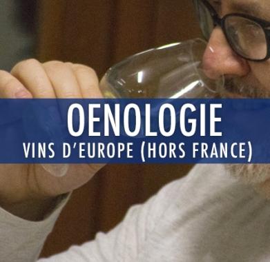 oenologie 3 : Vins d'europe (Hors France)