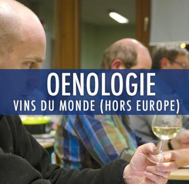 oenologie 4 : Vins du monde (Hors Europe)